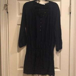 Amanda Uprichard Black Silk Dress Small